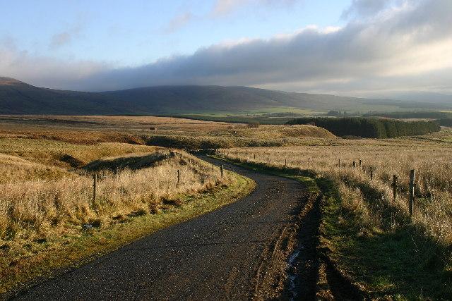 Moorland near Kirkconnel