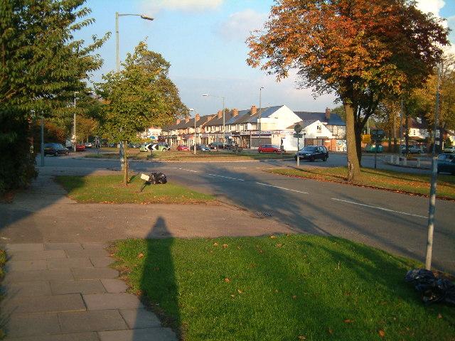 Highfield Roundabout, Hall Green