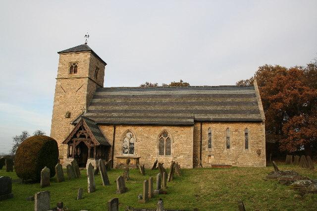 St.John the Baptist's church, South Carlton, Lincs.