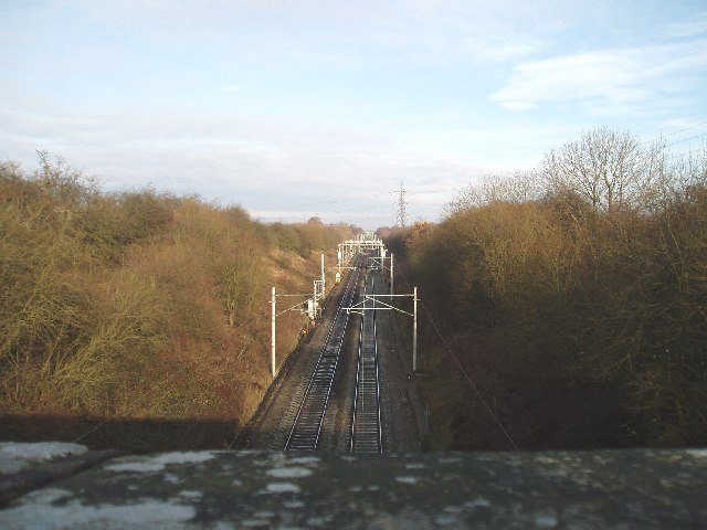 Macclesfield -Crewe railway line