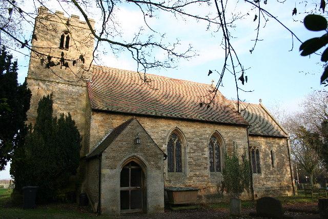 St.John the Baptist's church, Scampton, Lincs.
