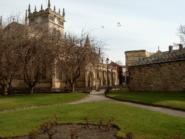All Saints church, Wigan