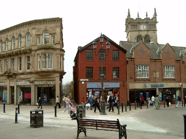 Church Gates, Wigan