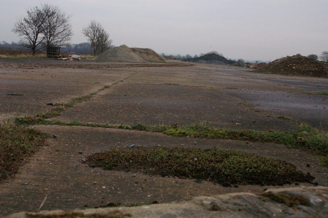 Remains of 2nd World War Airfield Runway