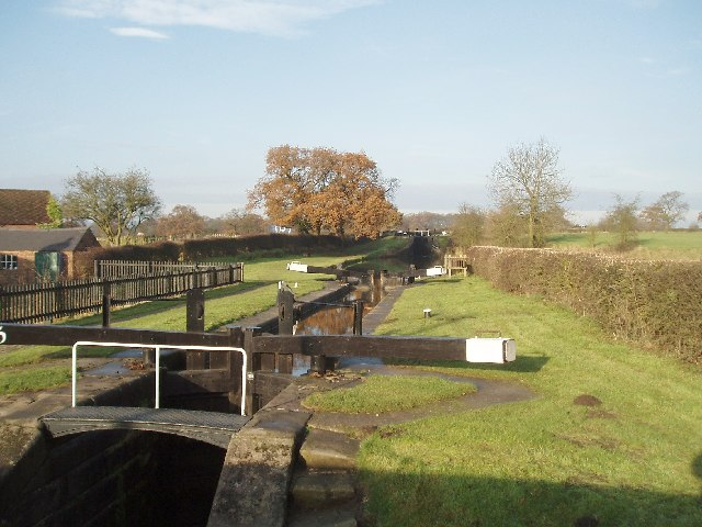 Bosley Locks, Macclesfield Canal