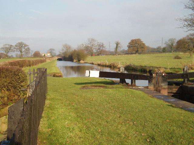 Bosley Locks, Macclesfield Canal