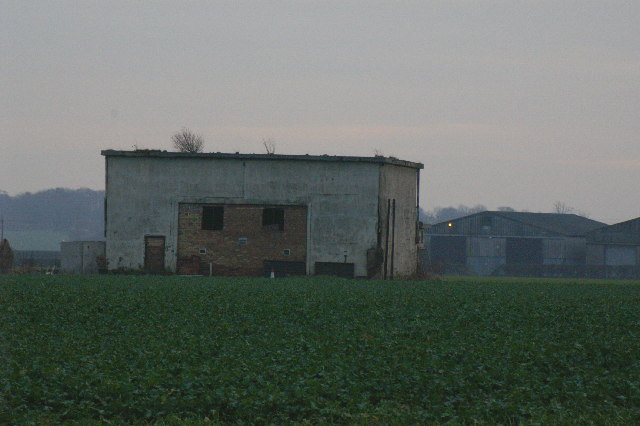 Ruin of 2nd world war airfield building
