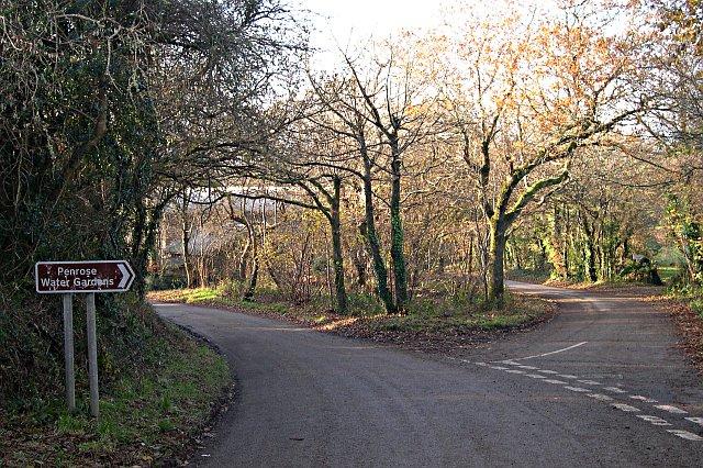 Minor Road Junction below Shortlanesend