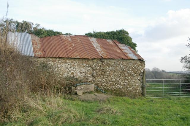 Shed near Burell Farm, Trematon
