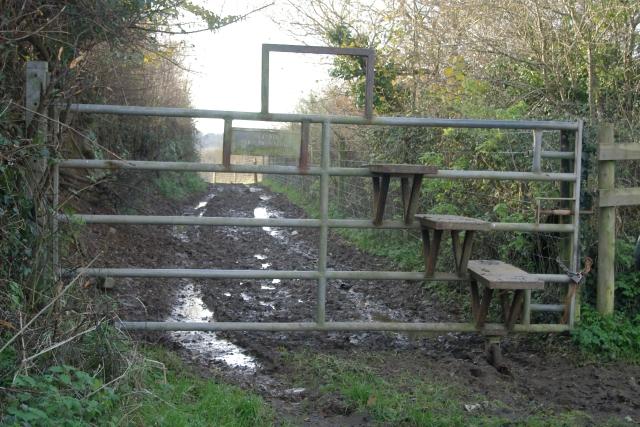 Stile gate, Shillingham, Saltash