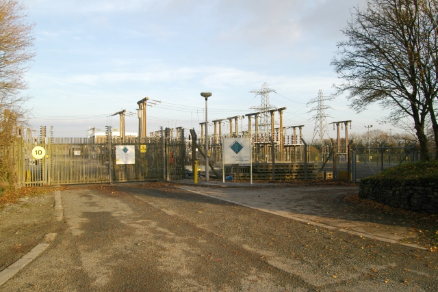Electricity Station, Landulph, Cornwall