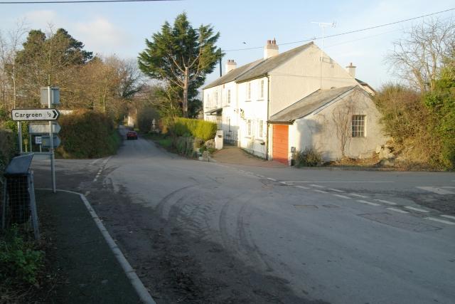 Landulph Cross, near Saltash