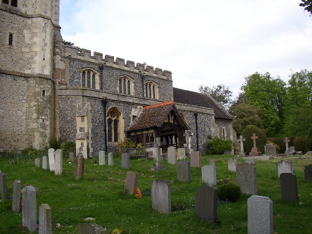 South side of King's Walden Church