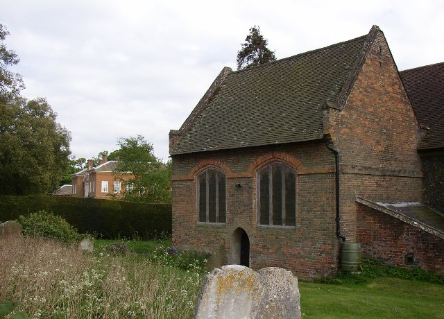 The vestry of King's Walden Church