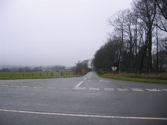 The road off to Asby.