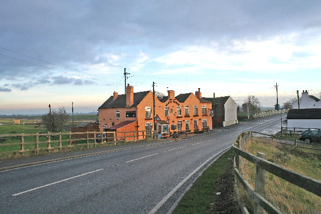 Rawcliffe Bridge Near Goole, Black Horse Public House