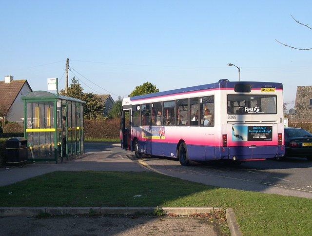 Bus Stop at Threemilestone