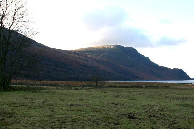 Fells above head of Ennerdale