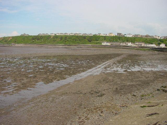 Mudflats adjacent to Maryport harbour