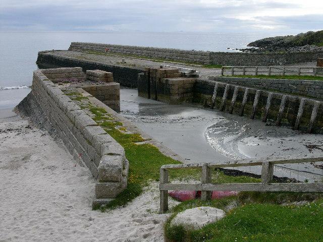 Hynish, Isle of Tiree - Pier