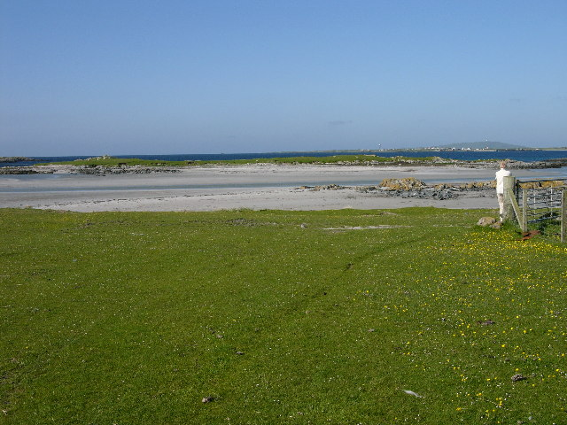 Foreshore and beach at Ruaig, Tiree (Rubh'a' Phuirt Bhig)