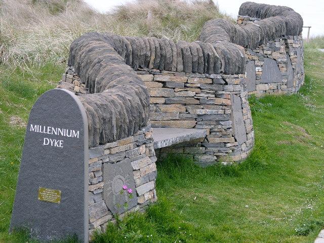 Dunnet Bay - Millennium Dyke