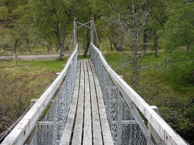Footbridge, River Helmsdale