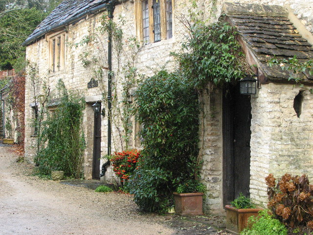 The Old Bakery Cottage Castle Combe Dave Imm Cc By Sa 2
