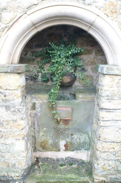 Well Head in the wall at Burton Village