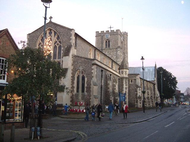 St. Peter's Church; Berkhamsted High Street