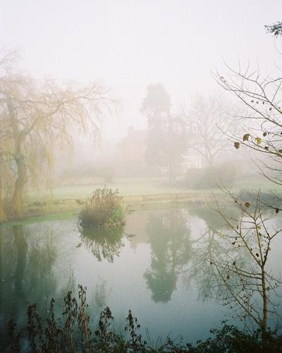 Bockmer House and pond