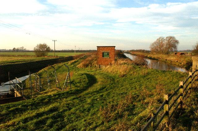 Pump Station on River Till