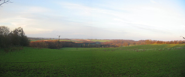 View north from Scarcroft Hall Farm