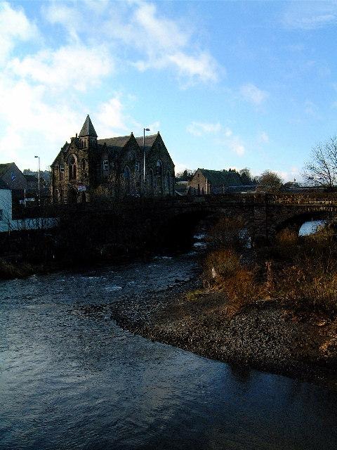 Road Bridge over the River Teviot, Hawick