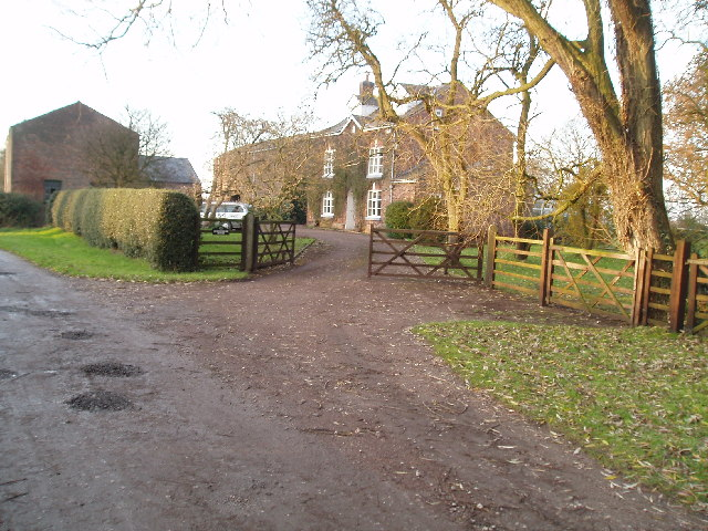Farm at beginning of Dooleys lane,Morley