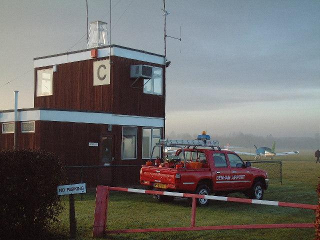Denham Aerodrome Control Tower