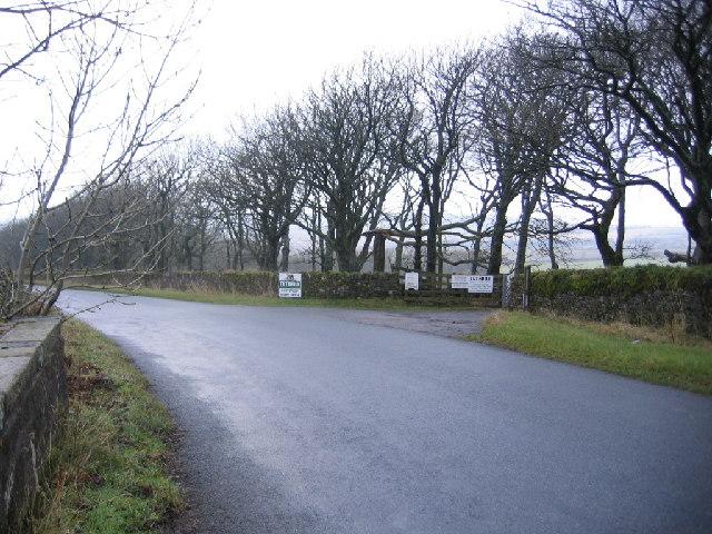 Tuthill Farm Entrance.