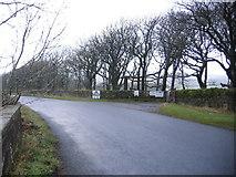 NY0220 : Tuthill Farm Entrance. by John Holmes