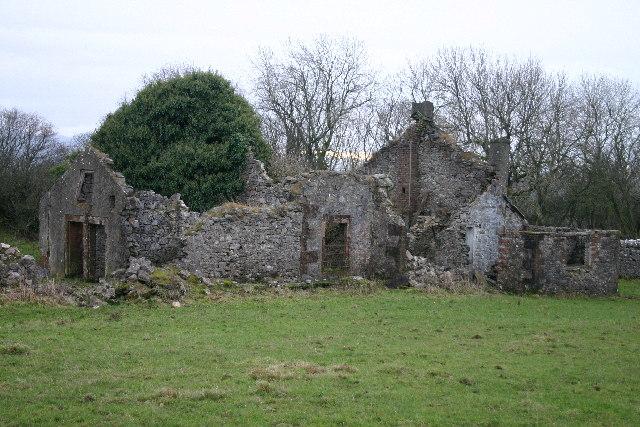 Ruins, Thackray Woods, nr Sunderland