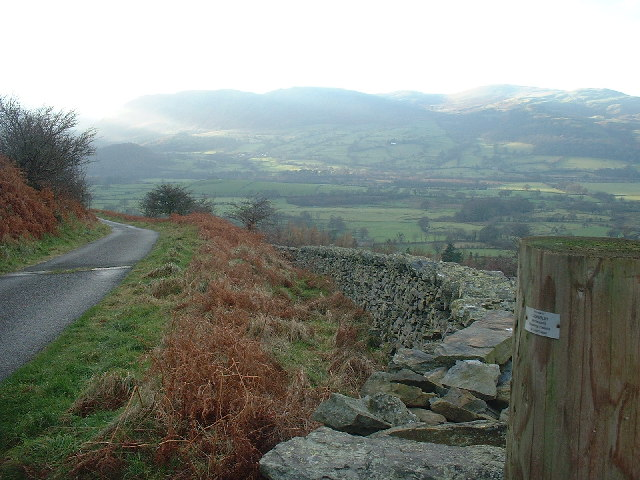 Wall and road High Swinside