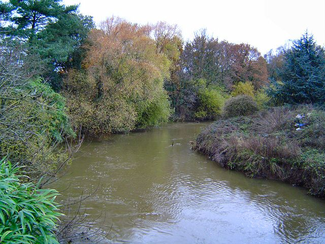 The river Teign at Newton Abbot