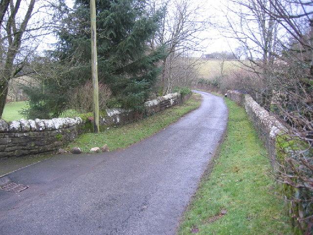 Bridge over Windergill Beck.