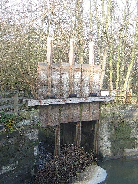 Wellesbourne Water Mill Sluices