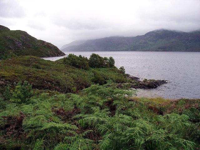 Loch Morar from Rubha Dubh