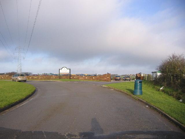 Whitehaven Golf Club Entrance.