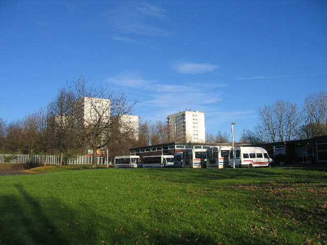 Day Centre and flats