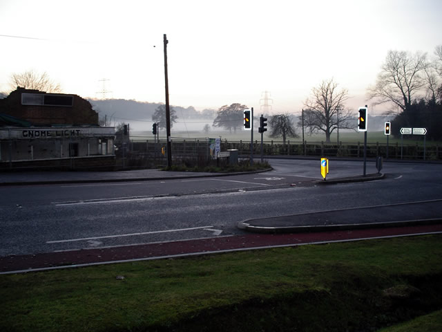 Fisher's Pond Road junction