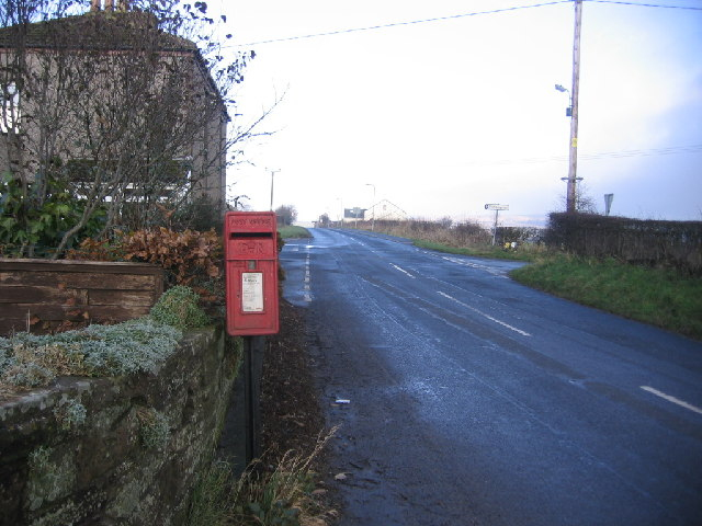 Postbox crossroads.