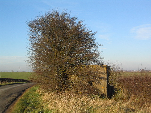 Pill box on road to North Witham