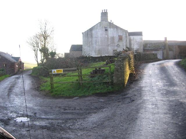 Rottington Hall Farm.